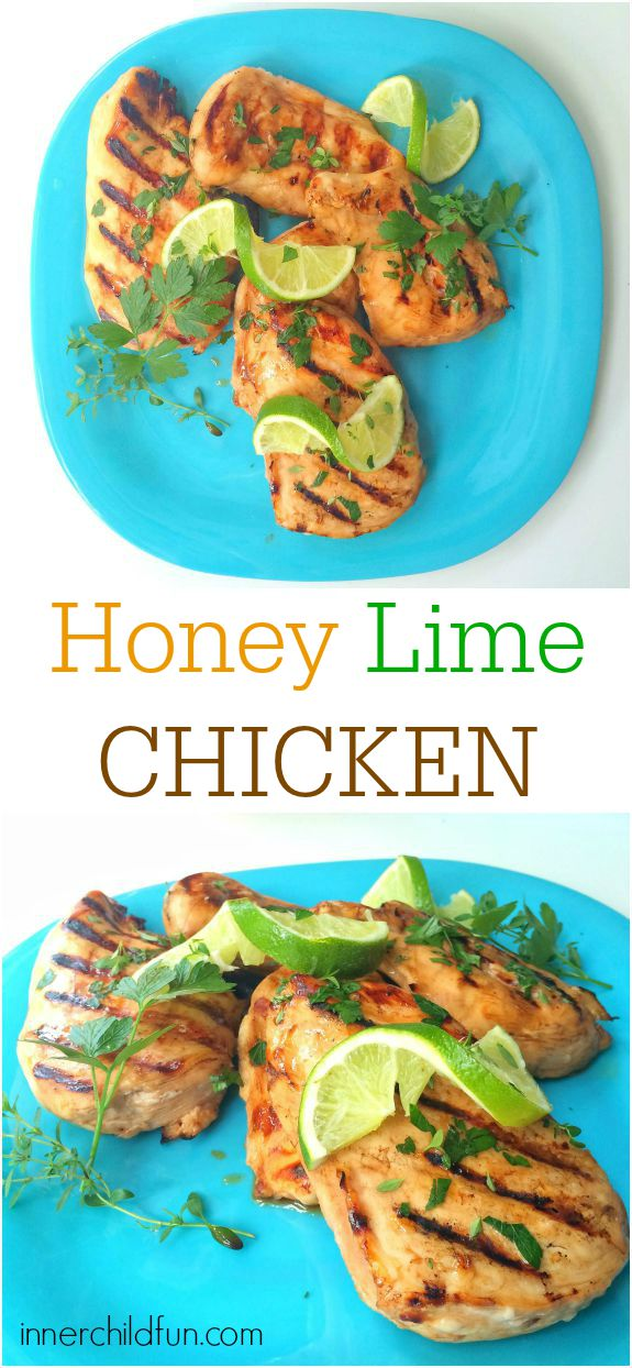 Favorite Summer Recipes -- Honey Lime Chicken